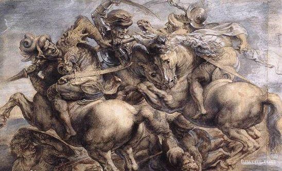 芬奇 永恒的记忆/《安吉里之战》