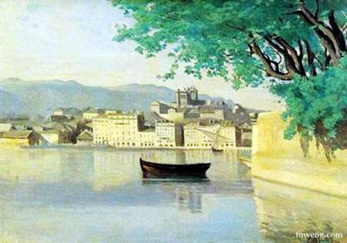 柯罗  法国19世纪中期