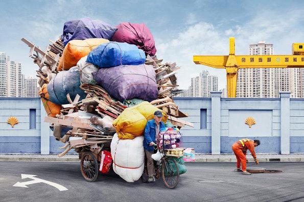 中国工人生活