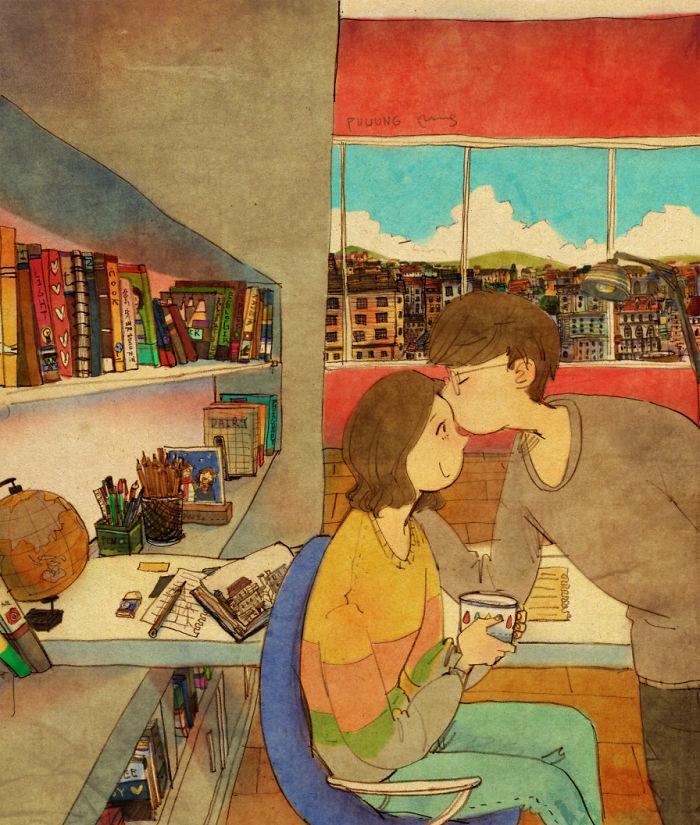 爱是件不经意间的小事