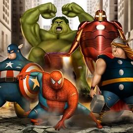 肥胖者联盟,超级英雄