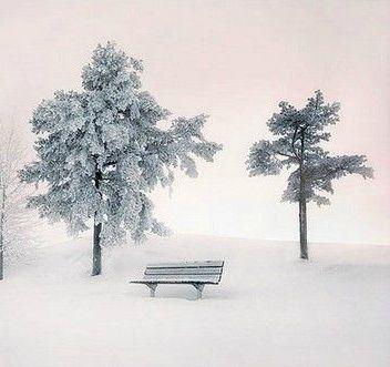 把记忆埋藏在大雪中