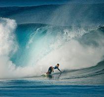 翻涌的海浪