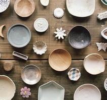 古朴的日本陶瓷