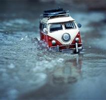 玩具车的旅行