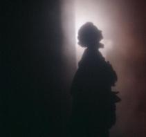 雾霾中的景象