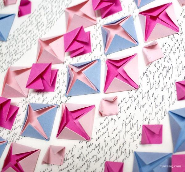 折纸拼贴画获奖作品
