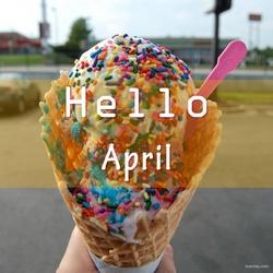 你好,四月