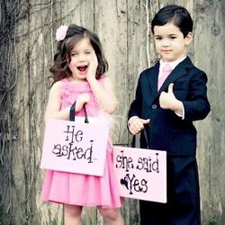 婚礼上的小天使