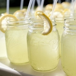 夏日饮品  柠檬水