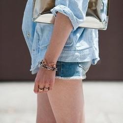fashion details 露腿