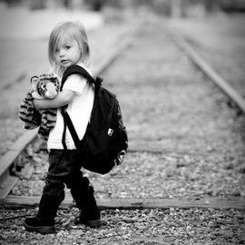 唯美可爱的黑白摄影