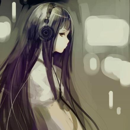 带上耳机的安静世界