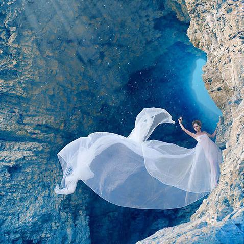唯美婚纱系列图片
