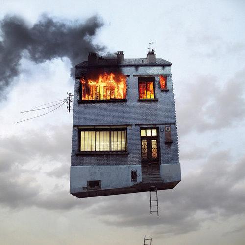 飞起来的房子