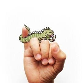 手指上的插画